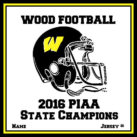 AB Wood Customized 2016 PIAA Champions