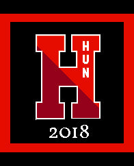 Hun H Pillow 20 x 20 with 2018