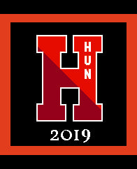 Hun H Pillow 20 x 20 with 2019