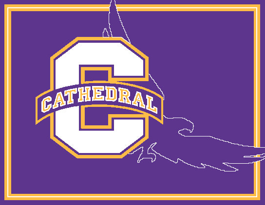 "NEW Cathedral ""C"" and EAGLE 60 x 50"