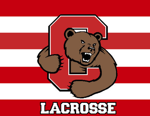 Cornell Striped Women's LAX 60 x 50