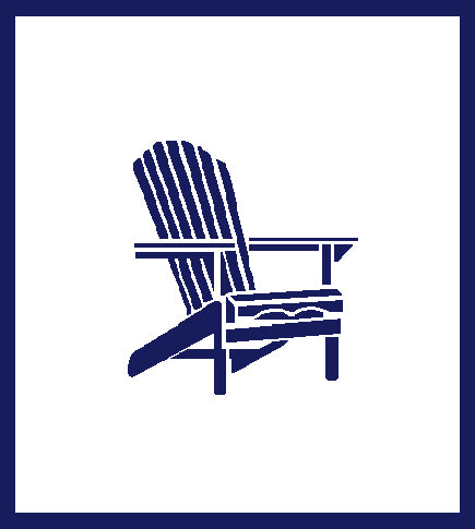 Adirondack Chair Blanket 50 x 60