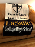LCHS  Multi logo Single Sport /Club Blanket Customized Name & Number 60 x 50