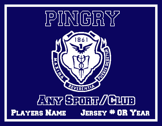 Pingry Athletic Any Sport   60 x 50