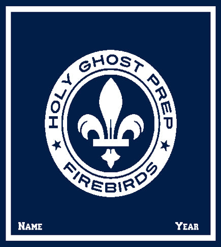Custom Holy Ghost Athletic Seal FIREBIRDS with Name and Year  50 x 60