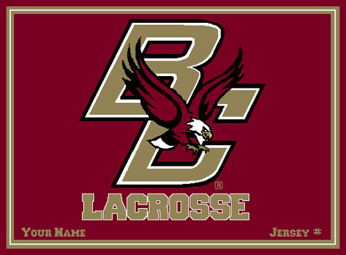 Boston College Women's Lacrosse Name & Number