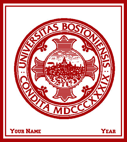 Custom Boston Univ. Natural 50 x 60