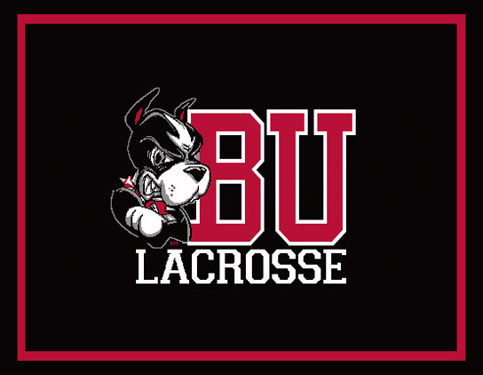 BU Black MEN's Lacrosse 60 x 50