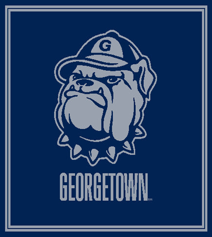 Georgetown Jack the Bulldog 50 x 60