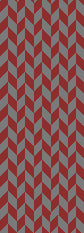 Bates Colors Chevron Scarf 9 x 60