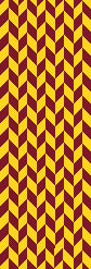 Ursinus Colors Chevron Scarf 9 x 60