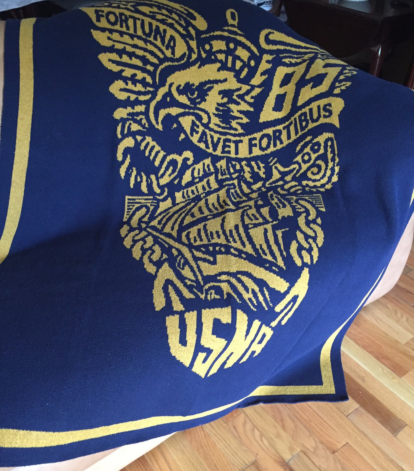 US Naval Academy Class of 1985 Seal Blanket