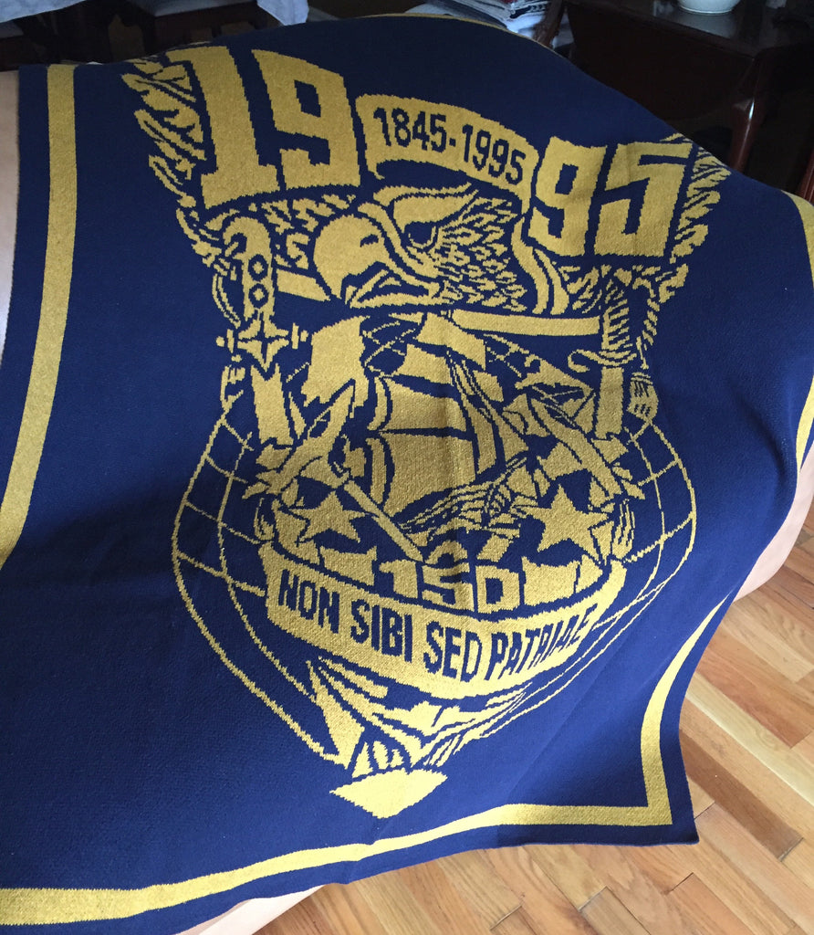 US Naval Academy Class of 1995 Seal Blanket