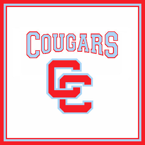 Charlotte Catholic Cougars Interlocking CC 50 x 60
