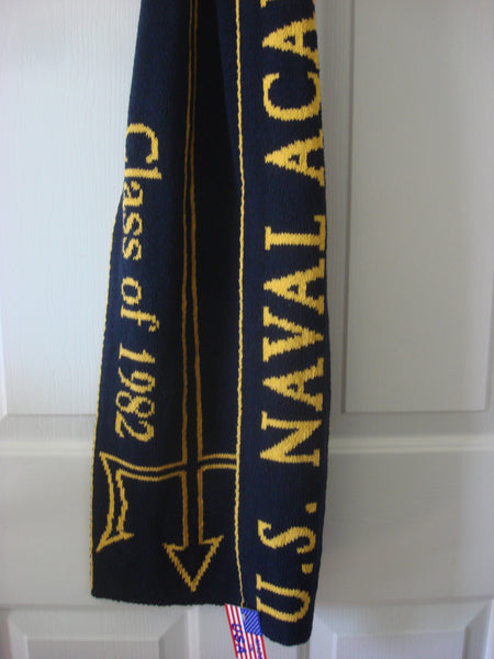 US Naval Academy Class of 1982 Scarf