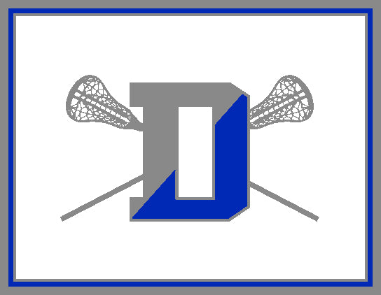 Darien HS Lacrosse Stix Natural Base 60 x 50