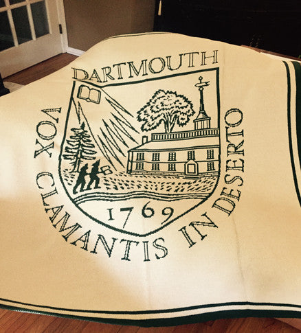 Dartmouth Shield Blanket Natural 50 x 60