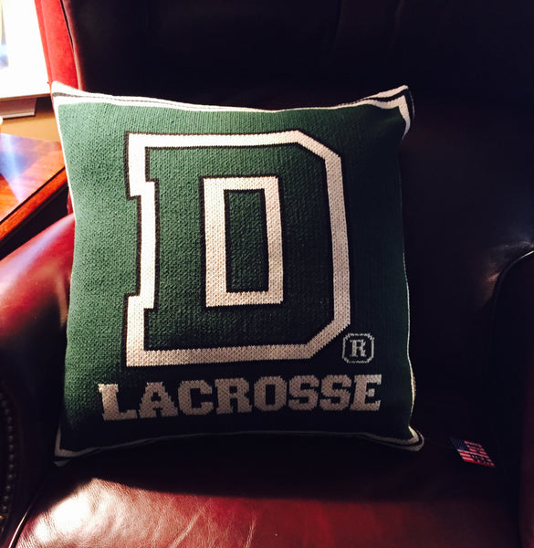 Dartmouth Lacrosse Pillow