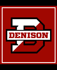 Denison RED D Pillow