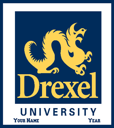 Custom Drexel Seal 50 x 60