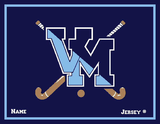 Customized Villa Maria Academy Field Hockey with your Name and Number