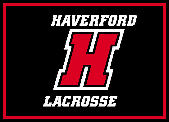 Haverford ANY Sport Blanket 60 x 50 (Showing Lacrosse)