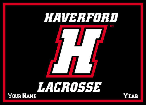 Haverford Men's Lacrosse Name & Year 60 x 50