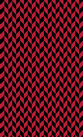 Harvard Colors Chevron Scarf