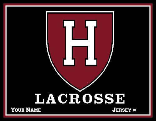 Harvard Women's Lacrosse Name & Number
