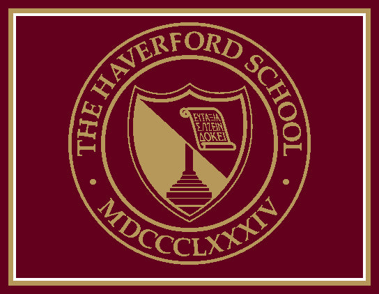 Haverford School Seal  60 x 50