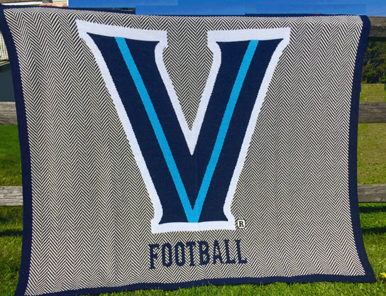 Villanova Home Collection Herringbone Football 60 x 50