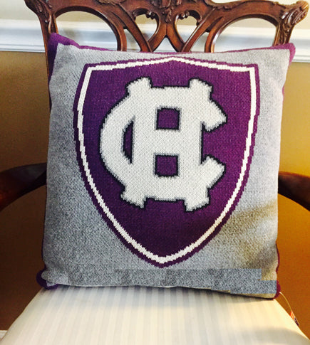 Holy Cross Shield Pillow 20 x 20