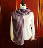 HC Colors Houndstooth Scarf 9 x 60