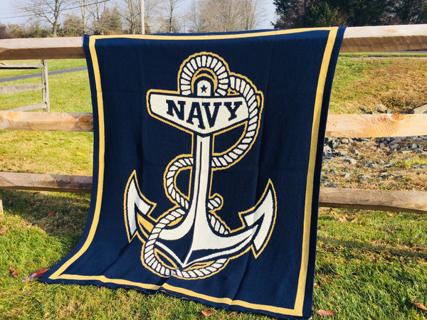 NAVY Anchor  50 x 60