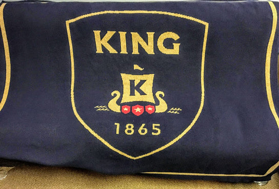 King 1865 Seal Customized with Name and Year 60 x 50