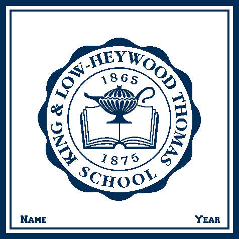 King & Low-Heywood Thomas Seal Customized with Name and Year 50 x 60