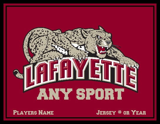Custom Lafayette  Any SPORT Blanket Base  60 x 50
