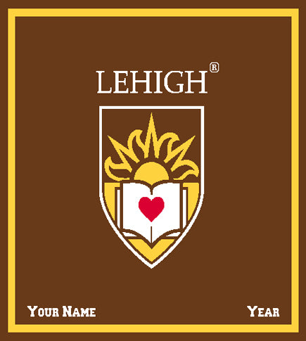 Lehigh Brown SealCustomized with your name and Year50 x 60