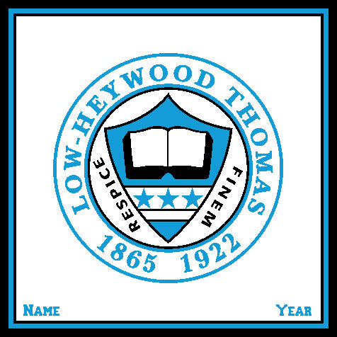 Low-Heywood Thomas Seal Customized with Name and Year 50 x 60
