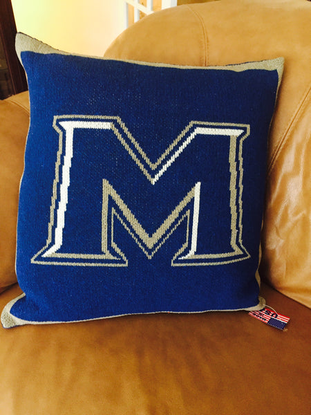 "Mt. St. Mary's ""M""  Pillow"