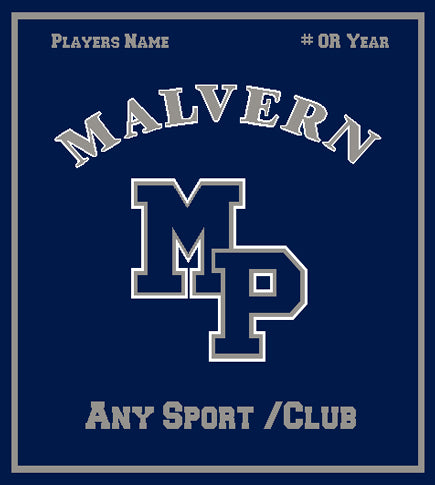 Malvern MP any Sport /Club  Solid 50 x 60