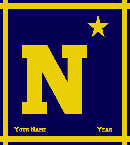 Customized USNA N Star 50 x 60
