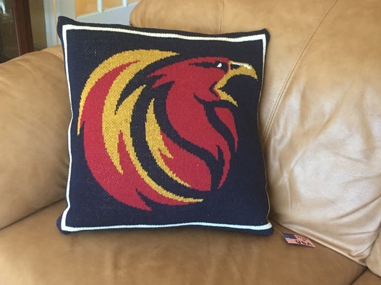 Holy Ghost Firebird Pillow 20 x 20