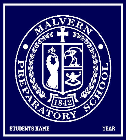 New Malvern Seal  Customized with Name and Year 50 x 60