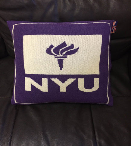 NYU Torch Pillow 20 x 20