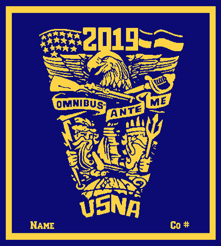 Custom 2019 SEAL  Name and Company # 50 x 60