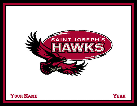 Custom St. Joe's Hawk Natural 60 x 50