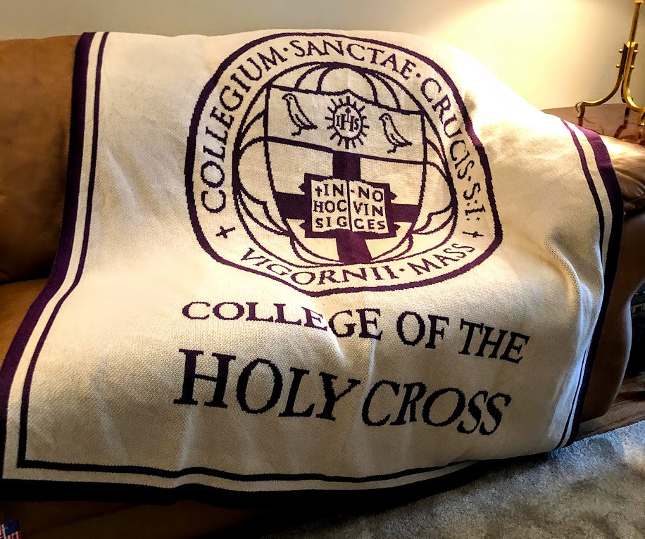 College of the Holy Cross SEAL Natural Base 60 x 50
