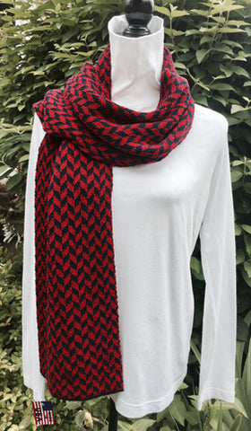 Richmond Colors Chevron Scarf 9 x 60