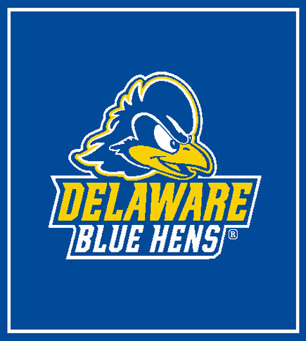University of Delaware New Royal Blue Hens  50 x 60